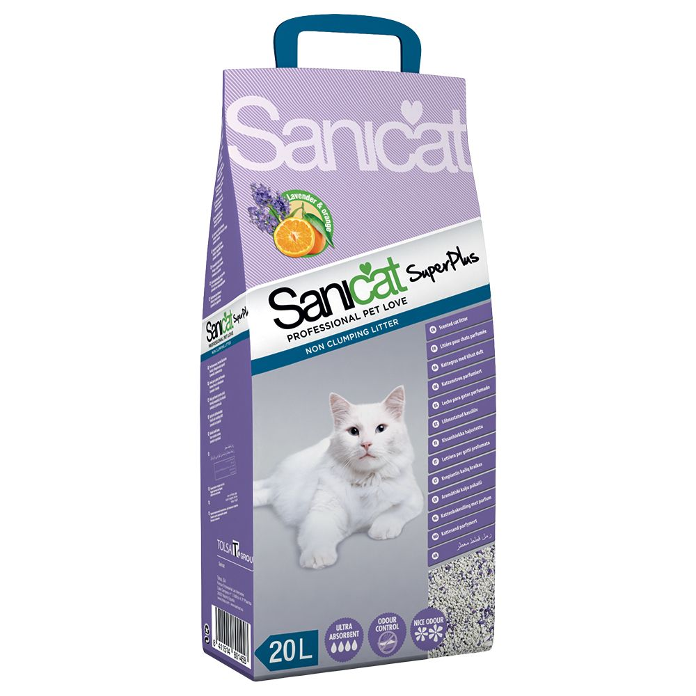 Sanicat Superplus - Ekonomipack: 2 x 20 l