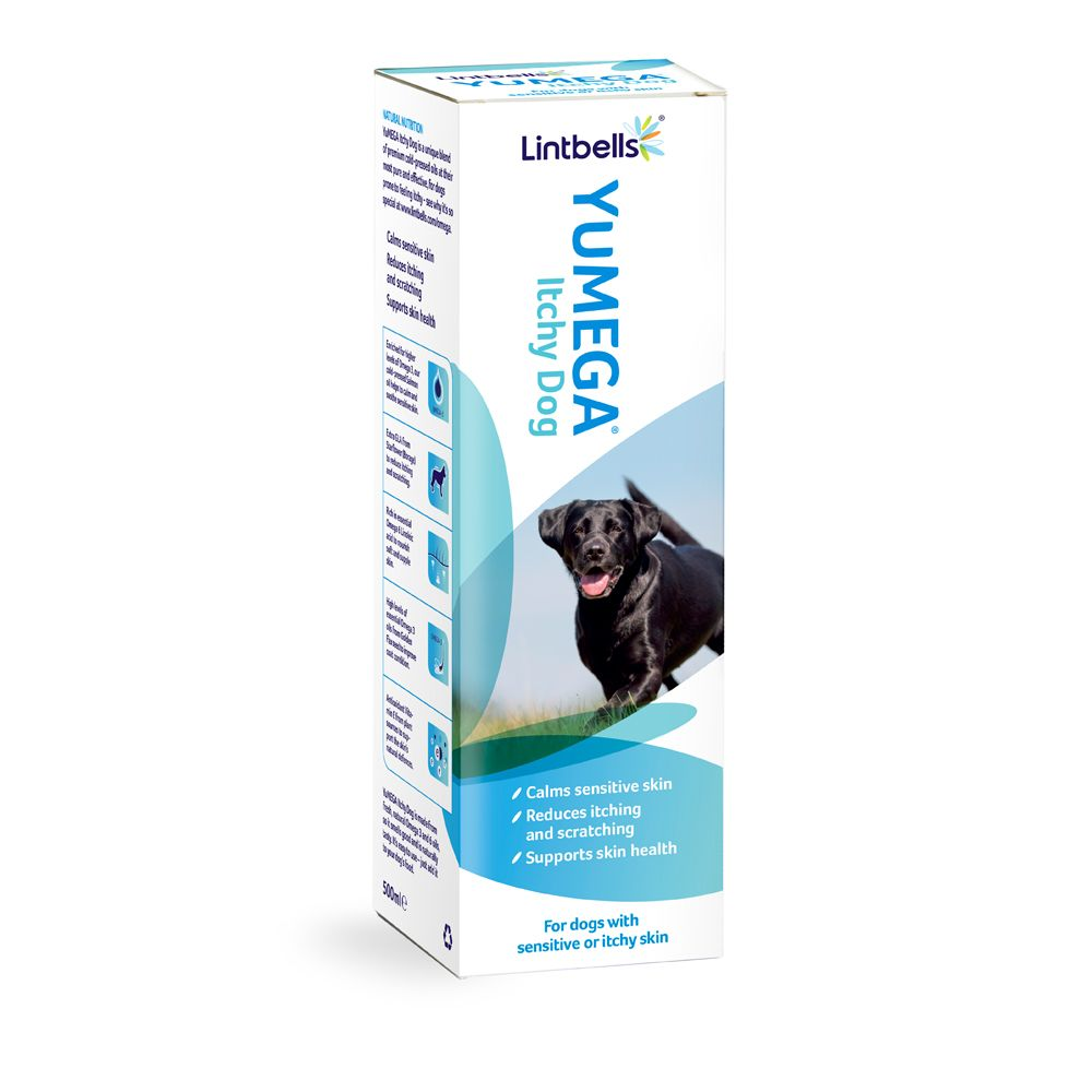 500ml Lintbells YuMEGA Itchy Dog + YuMOVE Supplement Bundle