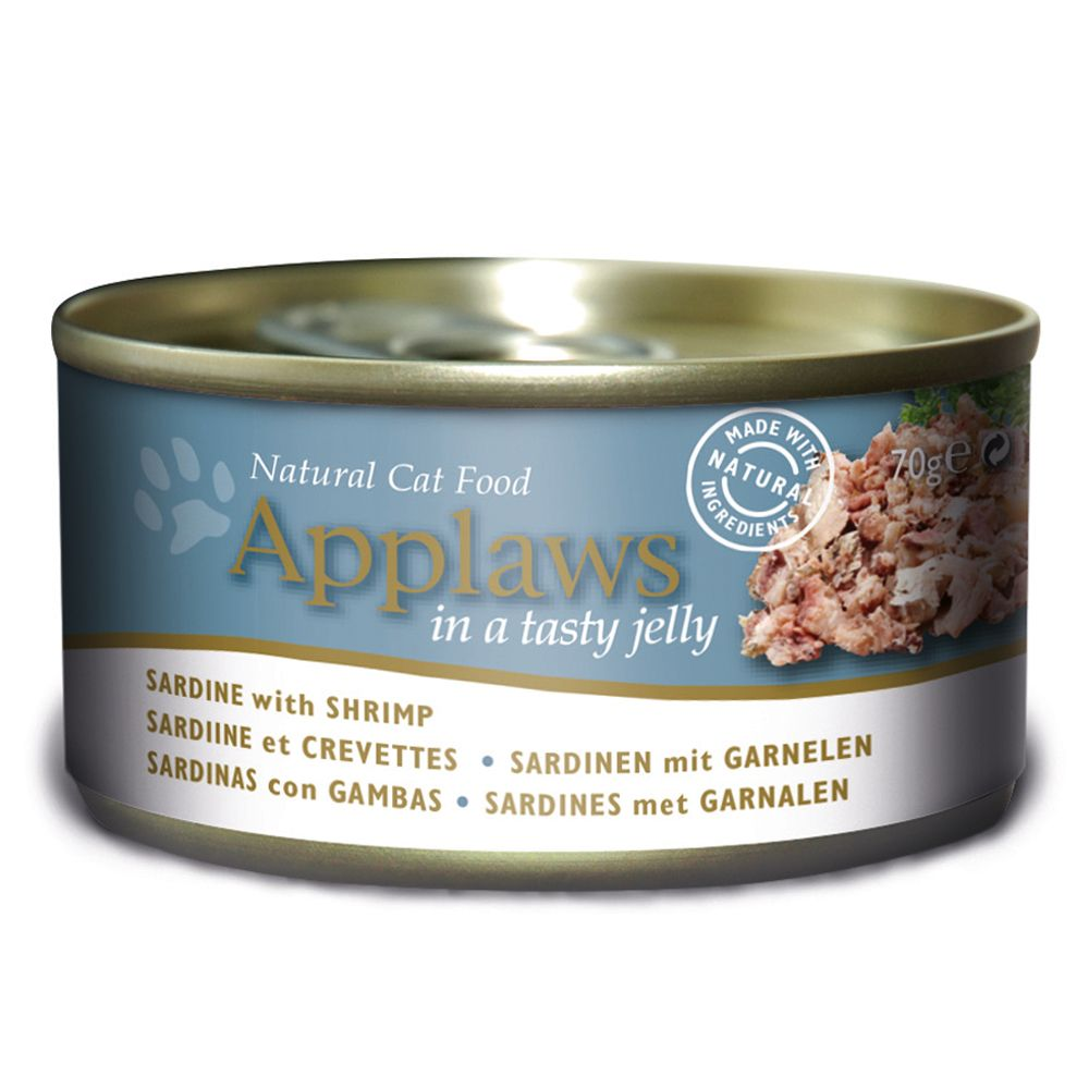 Grain-Free Tuna with Seaweed in Jelly Applaws Wet Cat Food
