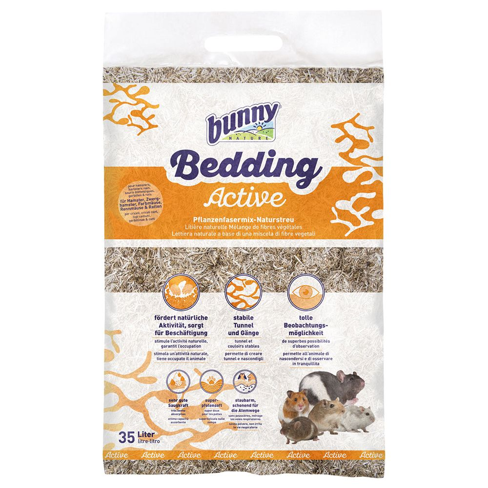 Bunny Bedding Active - 2 x 35 l