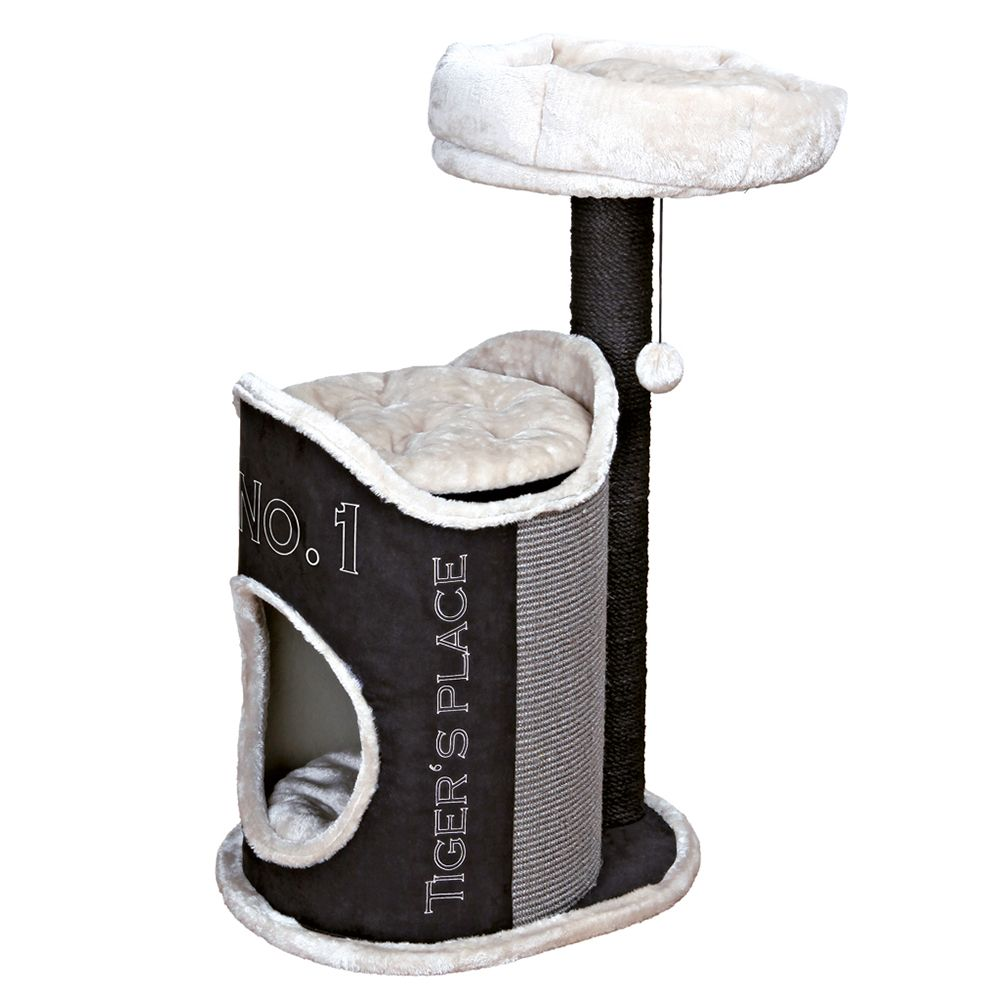 Trixie Susana Cat Tree - Black / Grey
