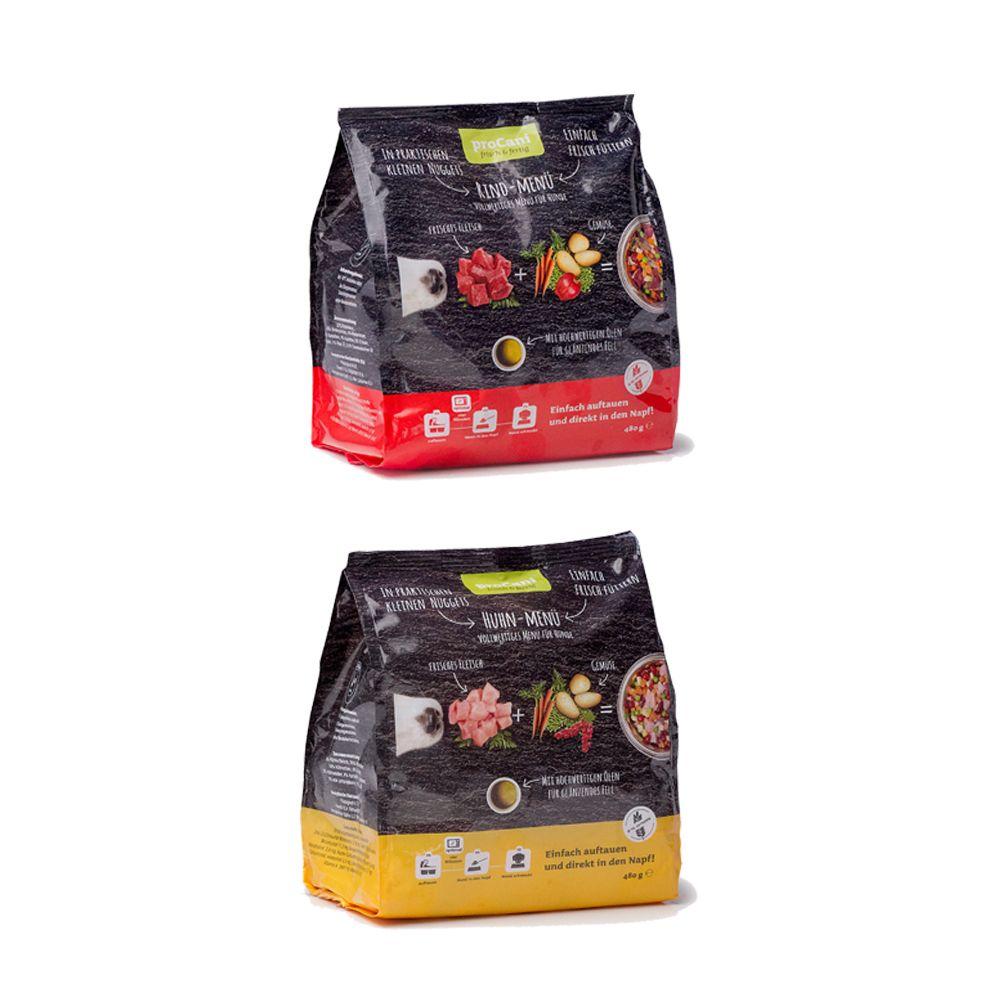 proCani Menu Nuggets pakiet mieszany, 5 x 480 g - Pakiet mieszany 1