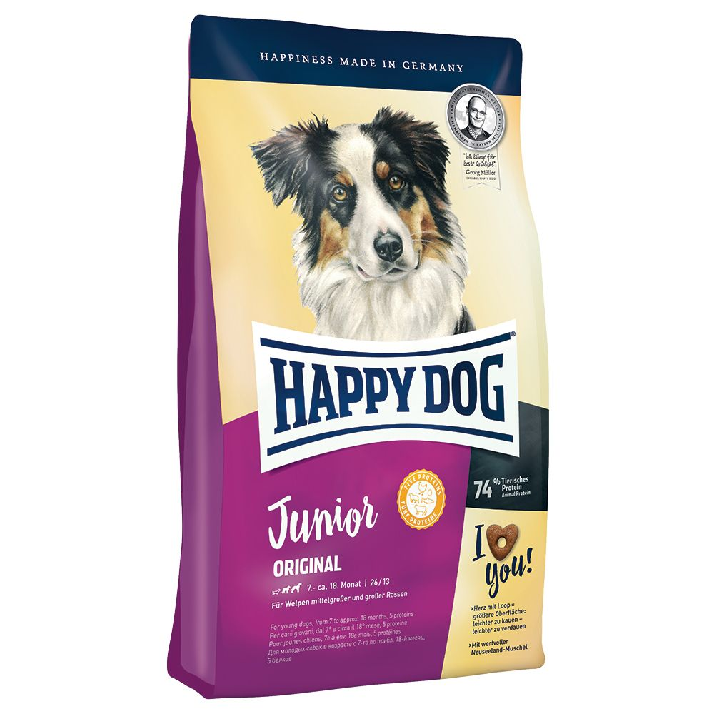 Happy Dog Supreme Young Junior Original - Ekonomipack: 2 x 10 kg