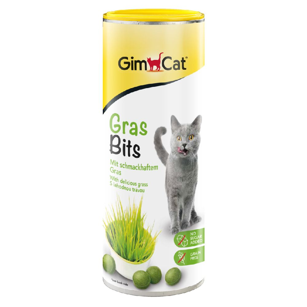 Image of GimCat GrasBits Set %: 2 x 140 g