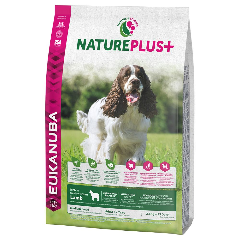 Eukanuba NaturePlus+ Medium Adult