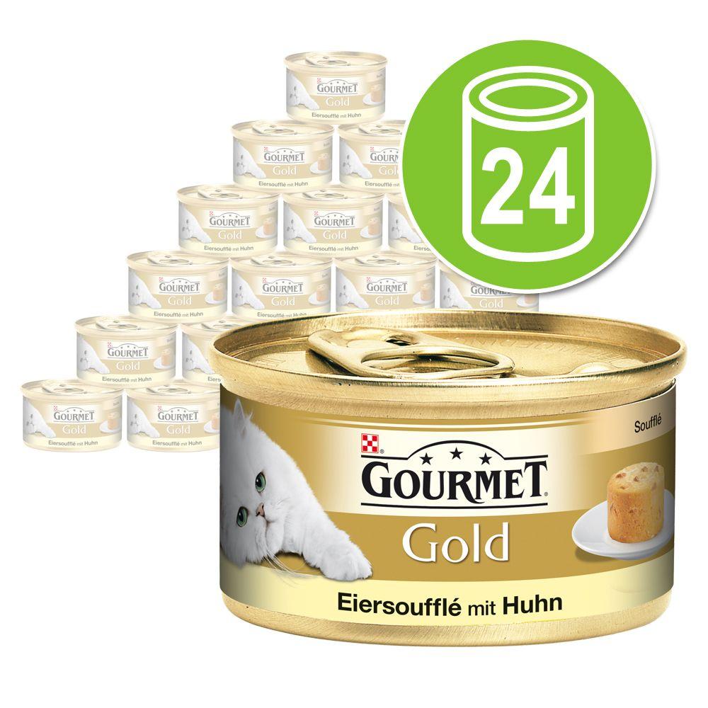 Chat Boîtes et sachets Gourmet Gold Gourmet Gold Soufflé aux œufs
