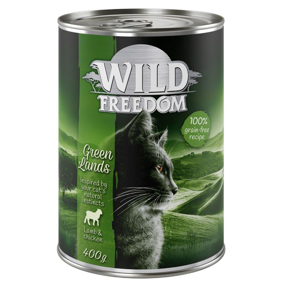 6x400g Adult lot mixte Wild Freedom - Pâtée pour chat