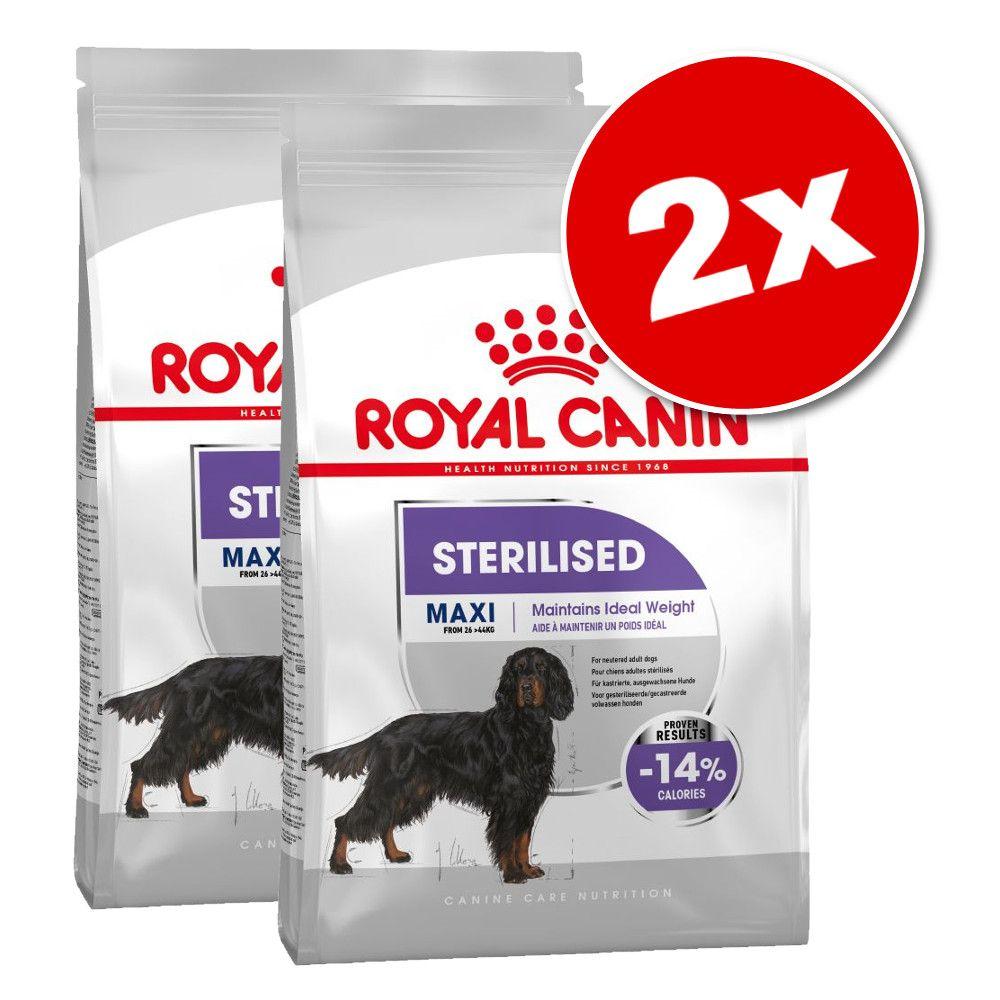 Lot Royal Canin Care Nutrition x 2 pour chien - Mini Coat Care (2 x 8 kg)