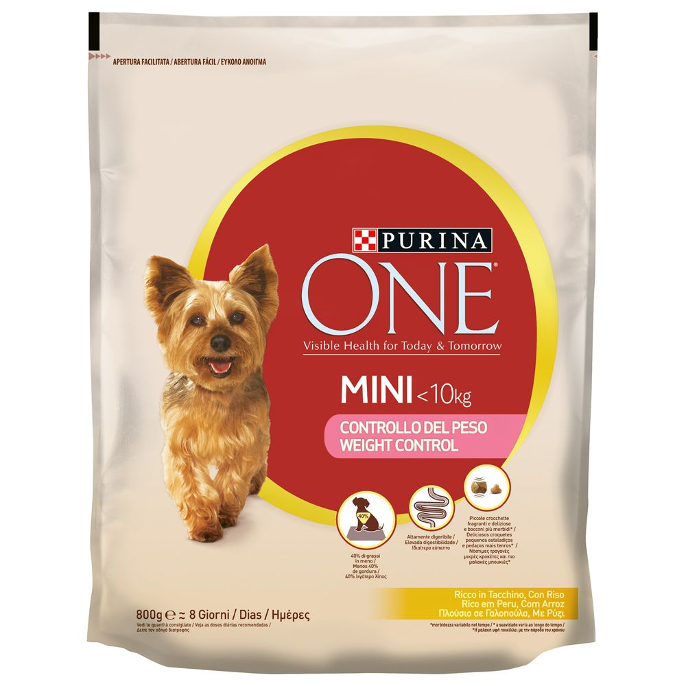 Purina One Small Breed Weight Control Turkey & Rice
