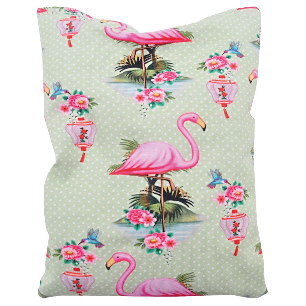 Aumuller Shanghai Flamingo Cushion with Catnip Valerian & Spelt 1 Toy