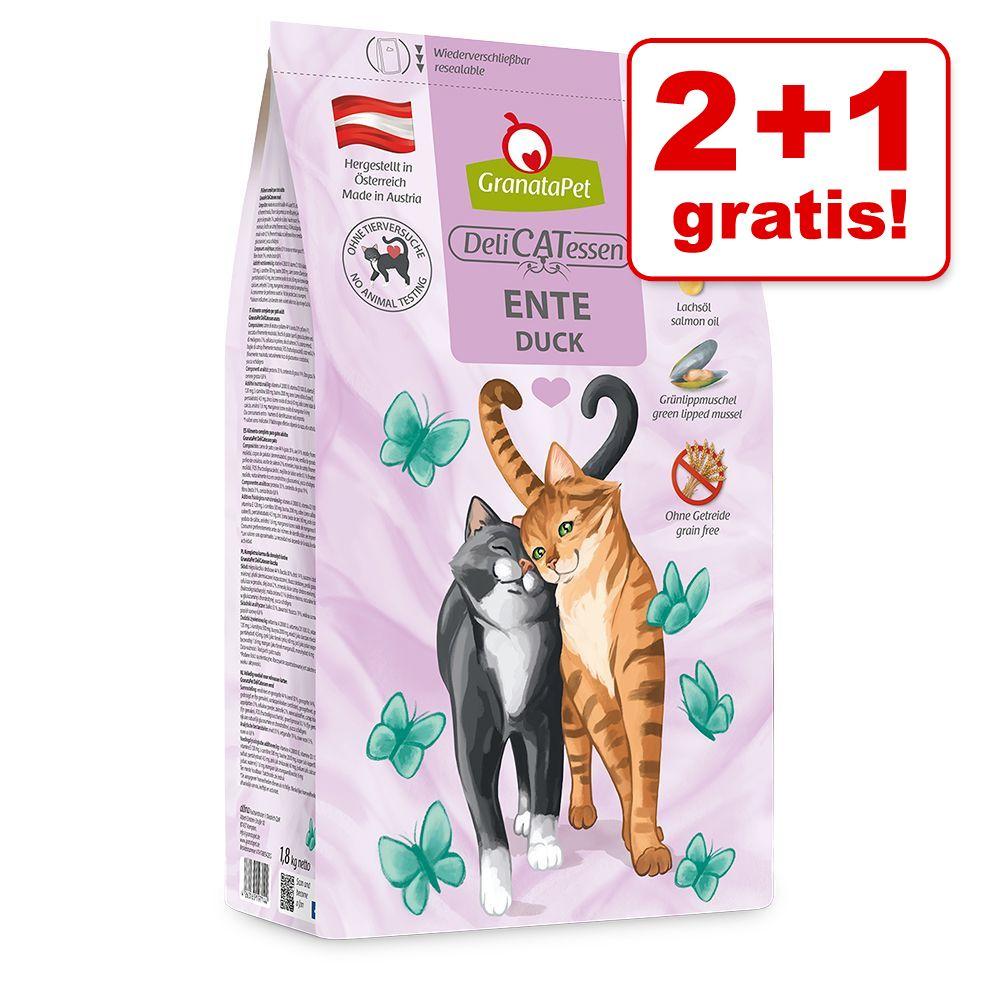 Image of 2 + 1 gratis! 3 x 300 g GranataPet DeliCatessen Adult - Adult Gamberi