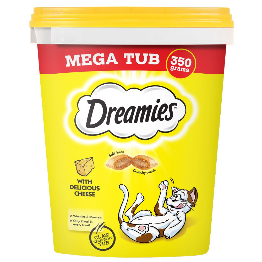 Dreamies Megatub Lax 350 g