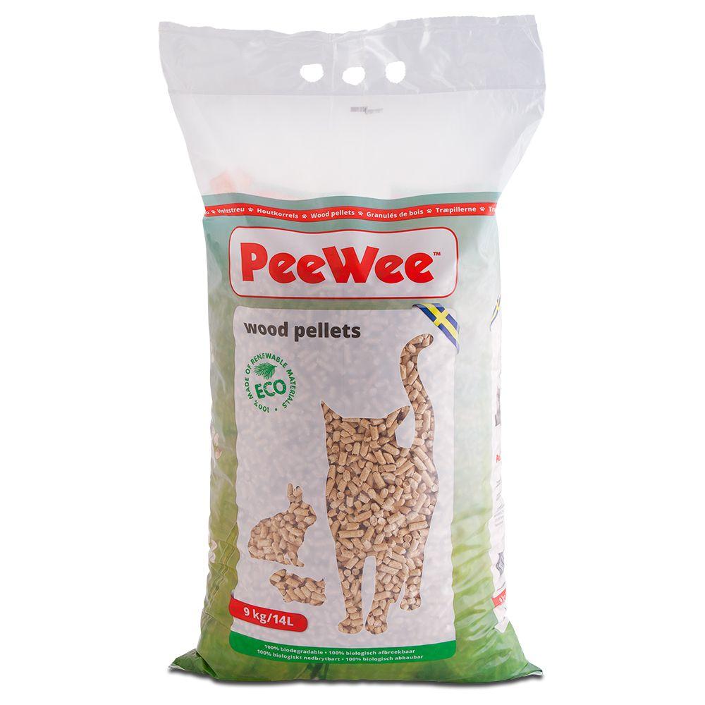 PeeWee Wood Pellets kattströ - 3 kg