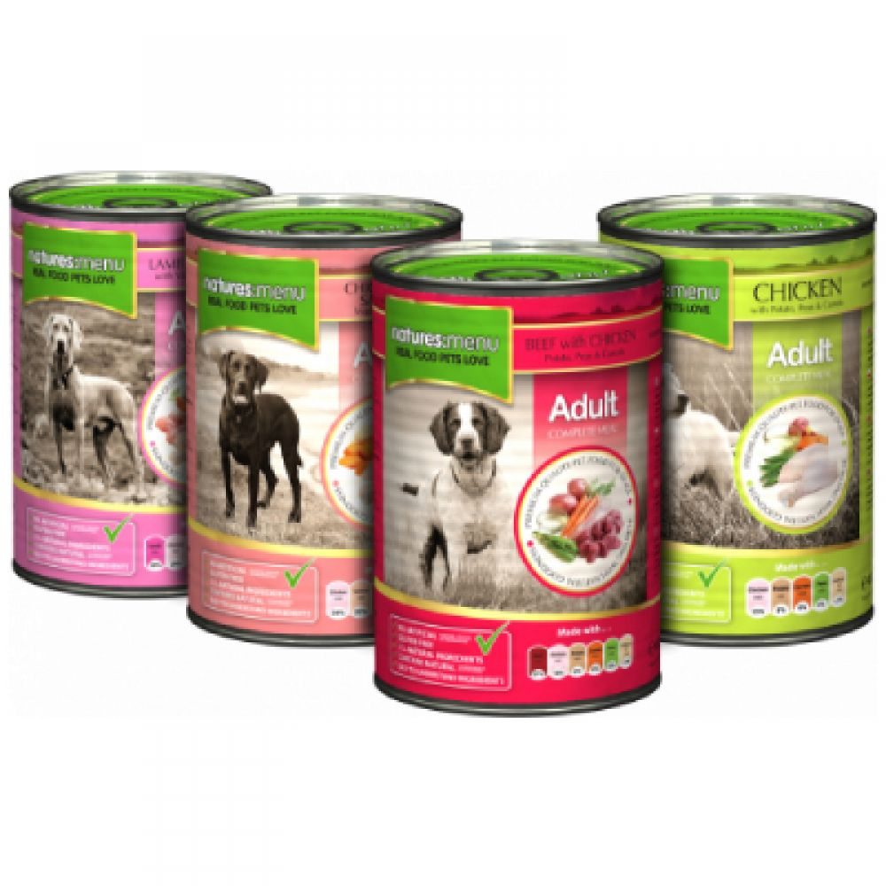 Natures Menu Original Dog Food Cans