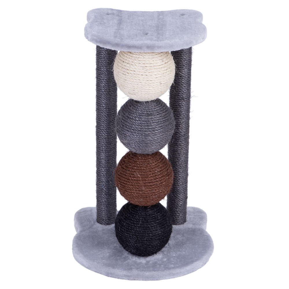 Planet Scratch Post Grey
