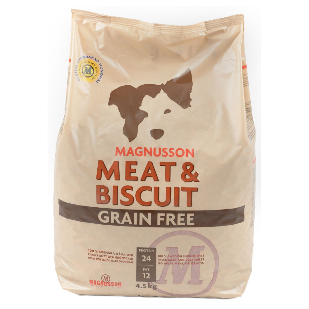 Magnusson Meat Biscuit Grain Free - 14 kg