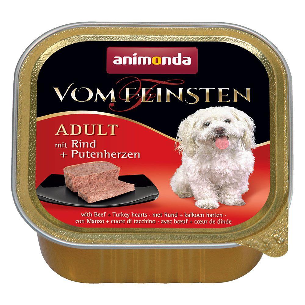 Animonda Vom Feinsten Adult spannmålsfritt 6 x 150 g - Kalkon & lamm