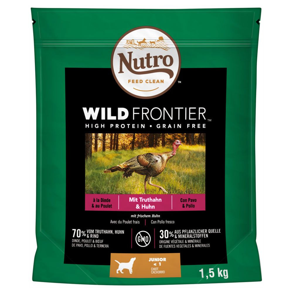 1.5kg Nutro Wild Frontier Puppy Dry Dog Food