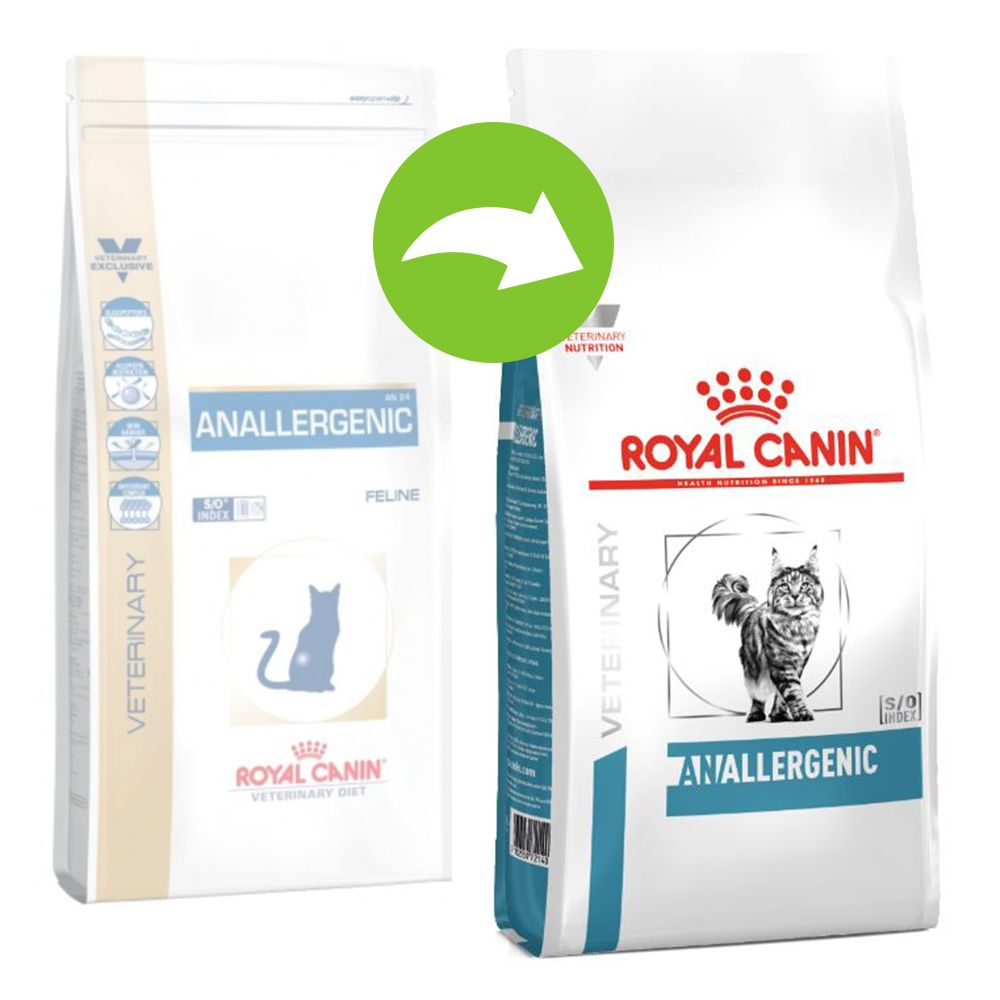 Royal Canin Veterinary Diet Feline Anallergenic - Ekonomipack: 2 x 4 kg