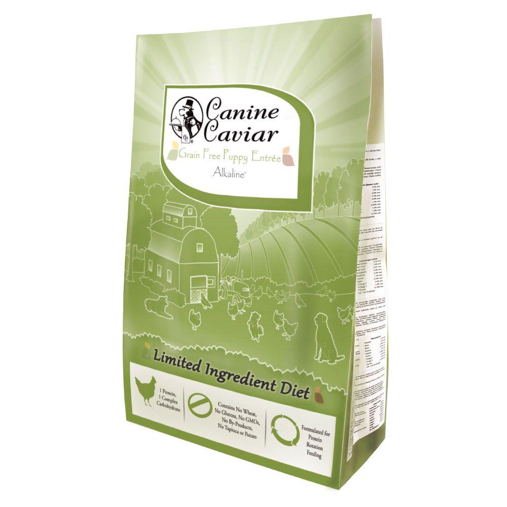 Canine Caviar Grain Free Puppy Entrée Alkaline® Chicken - Ekonomipack: 2 x 11 kg