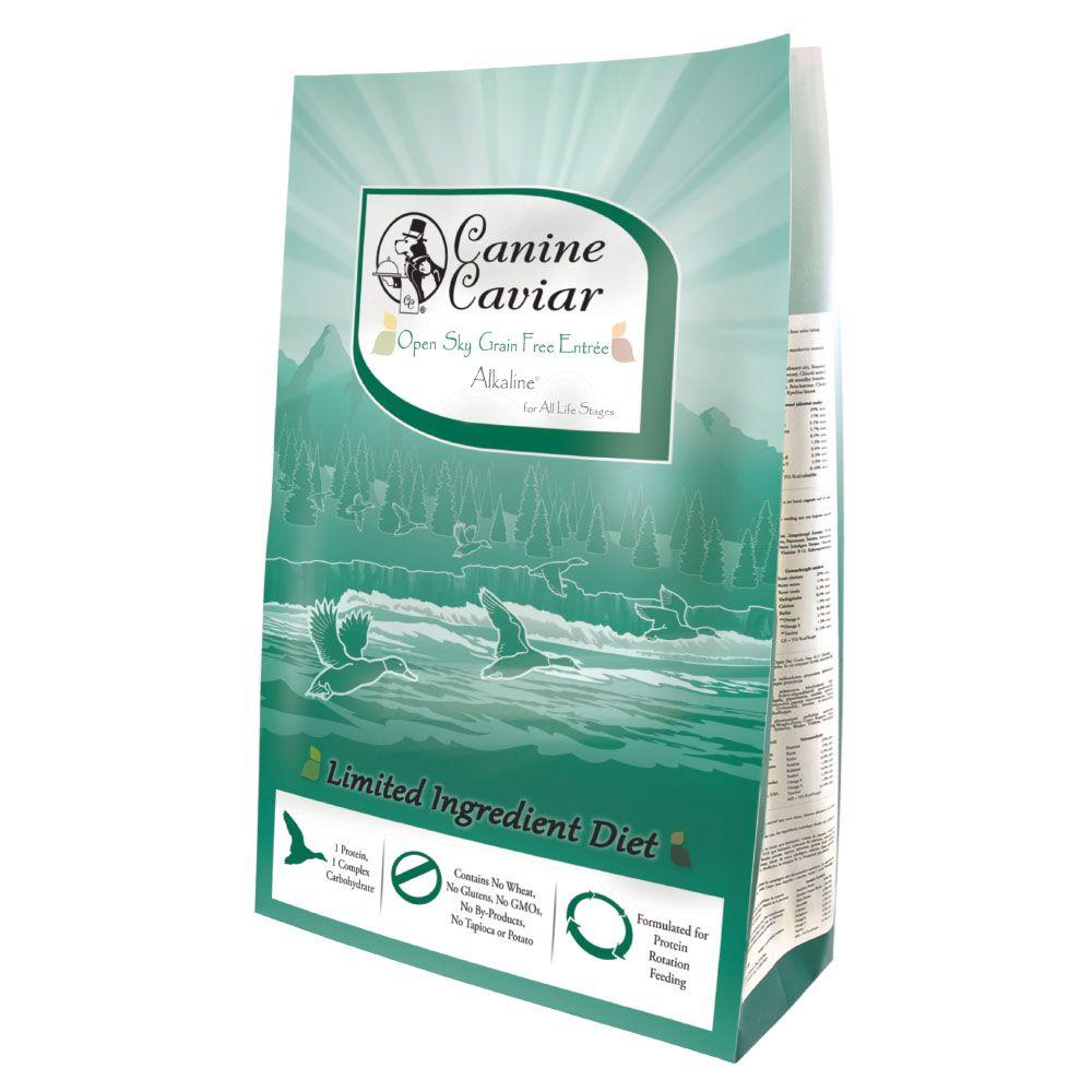 Canine Caviar Open Sky Grain Free Entrée Alkaline® Duck - Ekonomipack: 2 x 11 kg