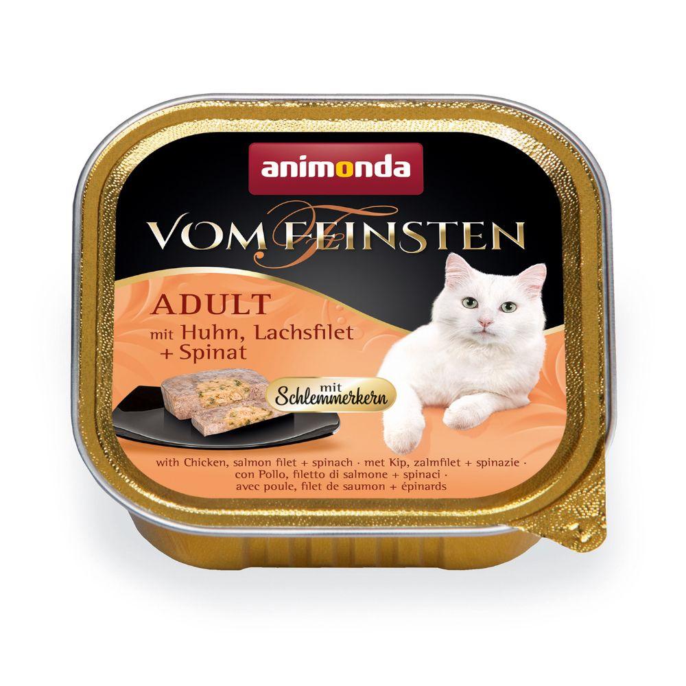 Bilde av Animonda Vom Feinsten Adult Med Gourmetfyll 6 X 100 G - Kalkun, Kyllingbryst Og Urter