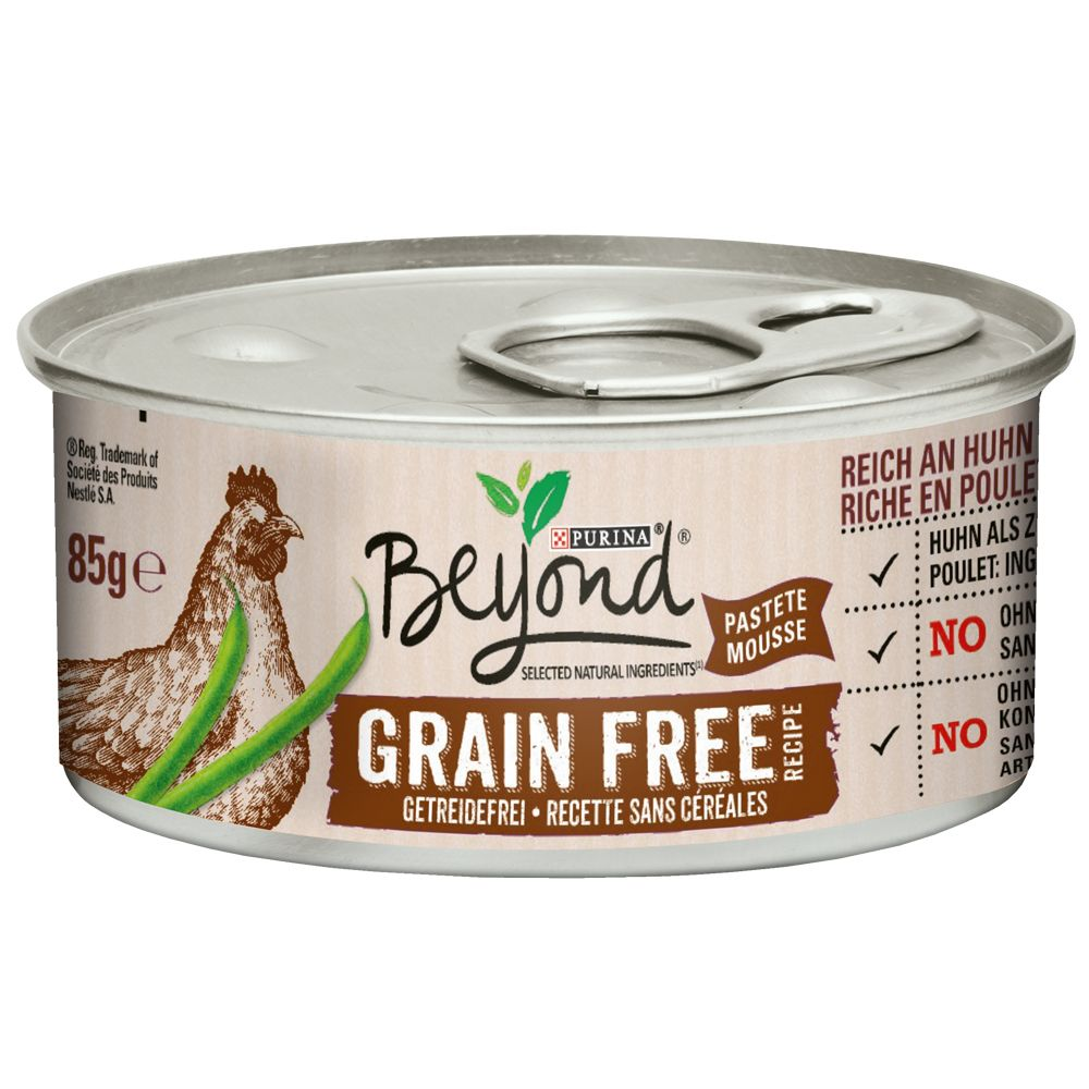 Image of Beyond Grainfree Mousse 12 x 85 g - Pollo