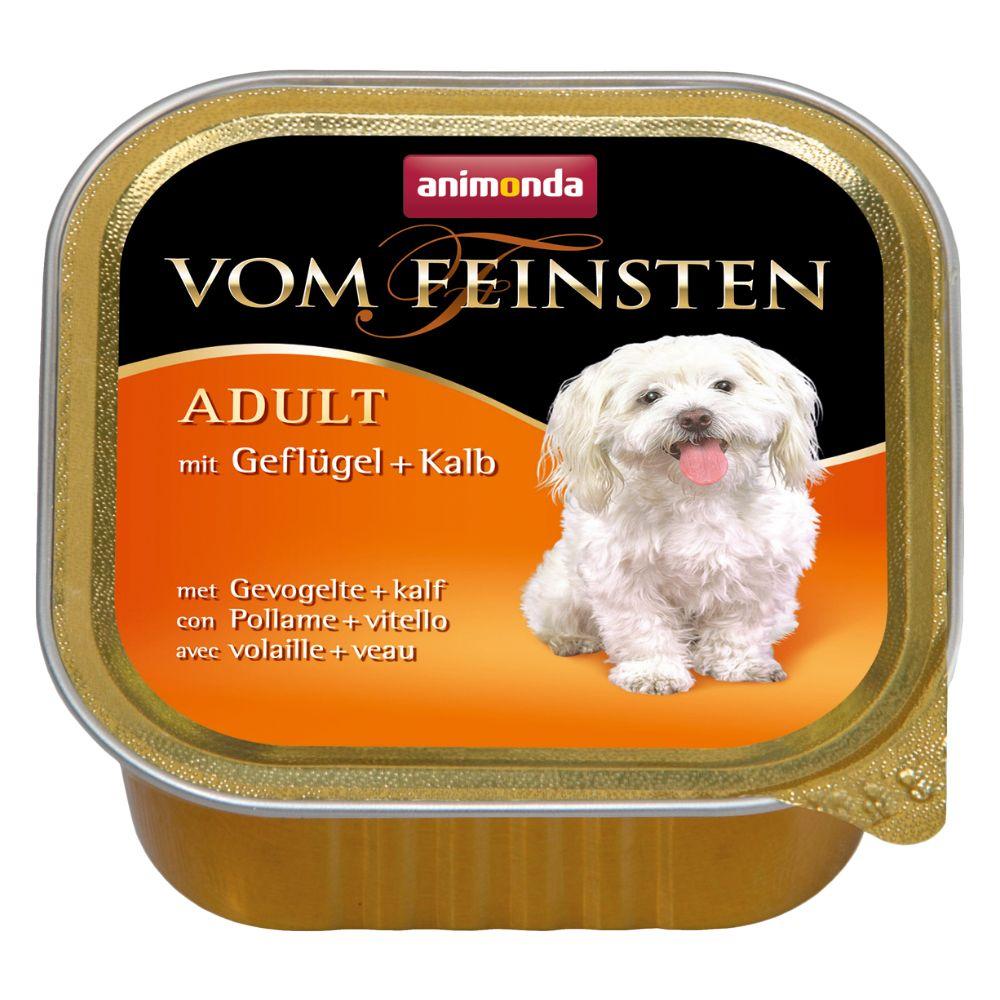 6 x 150 g Animonda vom Feinsten Adult getreidefrei Nassfutter Hund: Hirsch