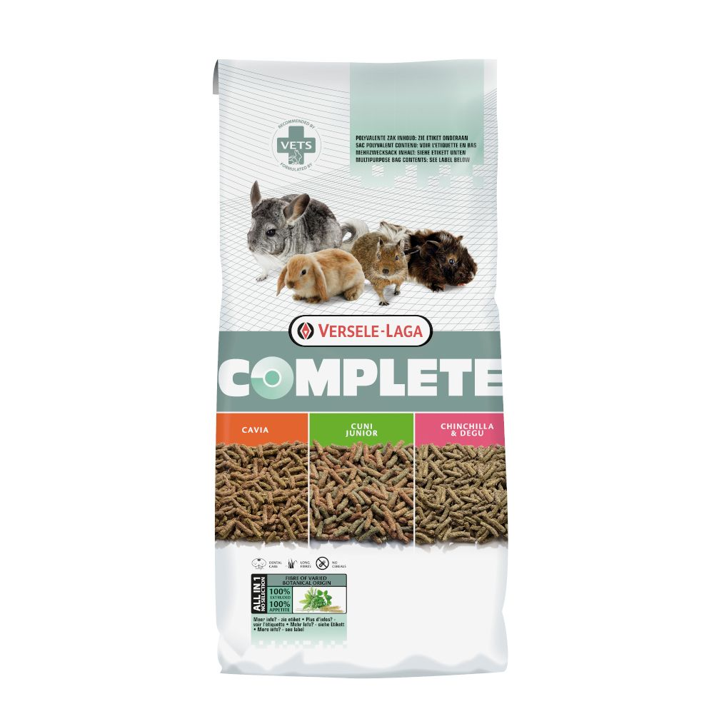 2 x 1.75kg Versele-Laga Cavia Complete Guinea Pig Food