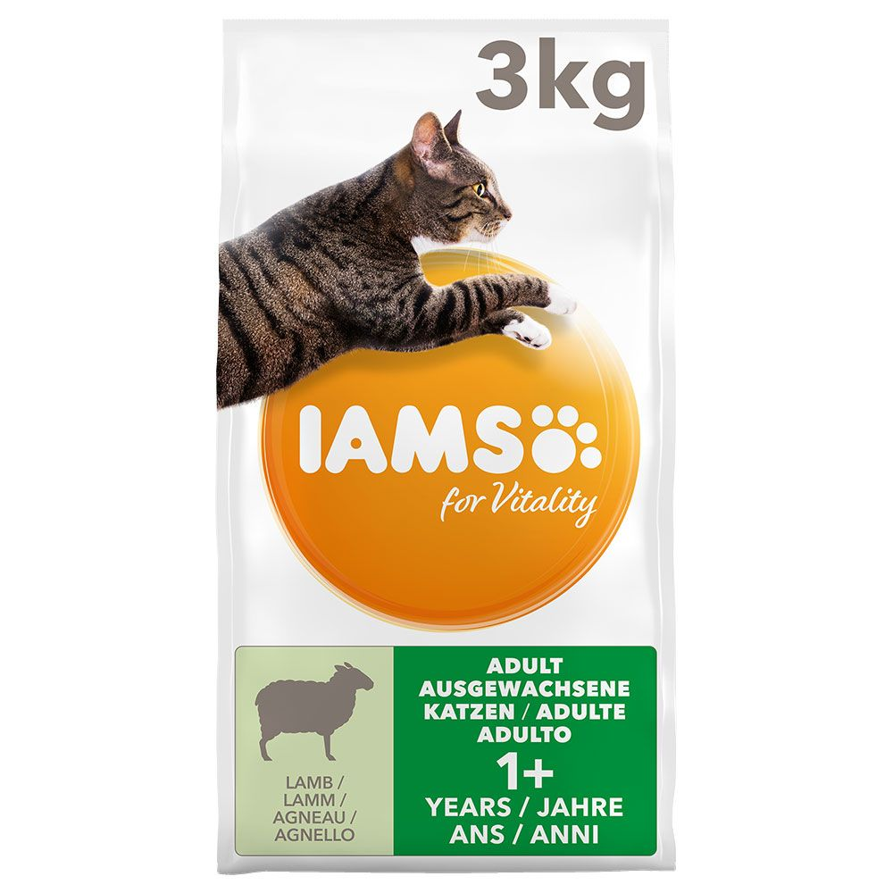 Lamb Adult for Vitality IAMS Dry Cat Food