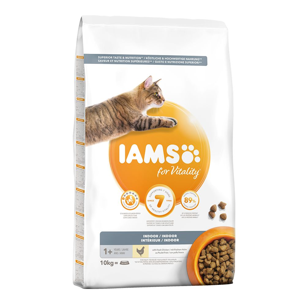IAMS torrfoder 10 eller 15 kg + Catessy Sticks 10st - Bar-B-Q Kalkon på köpet! Senior Chicken (10 kg)