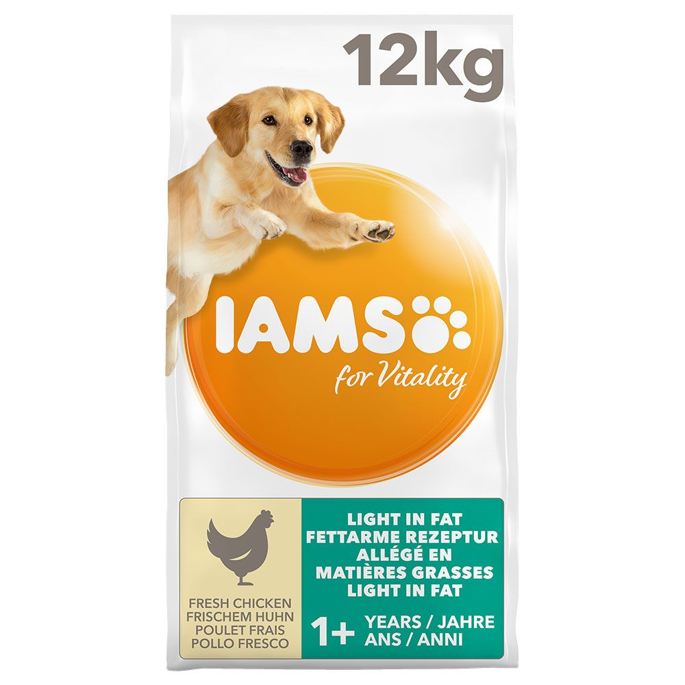IAMS for Vitality Weight Control Chicken Light in Fat Adult Dry Dog Food