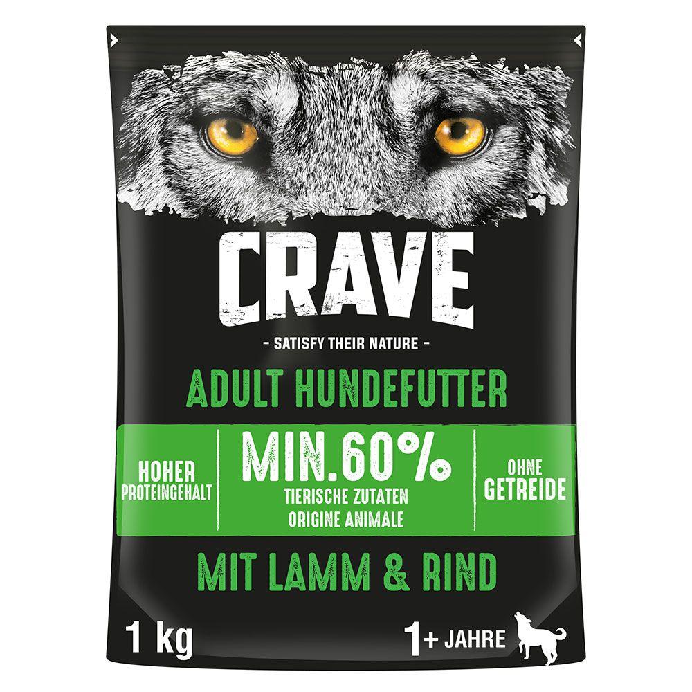 Crave Adult Dog Lamb & Beef Ekonomipack: 2 x 11,5 kg