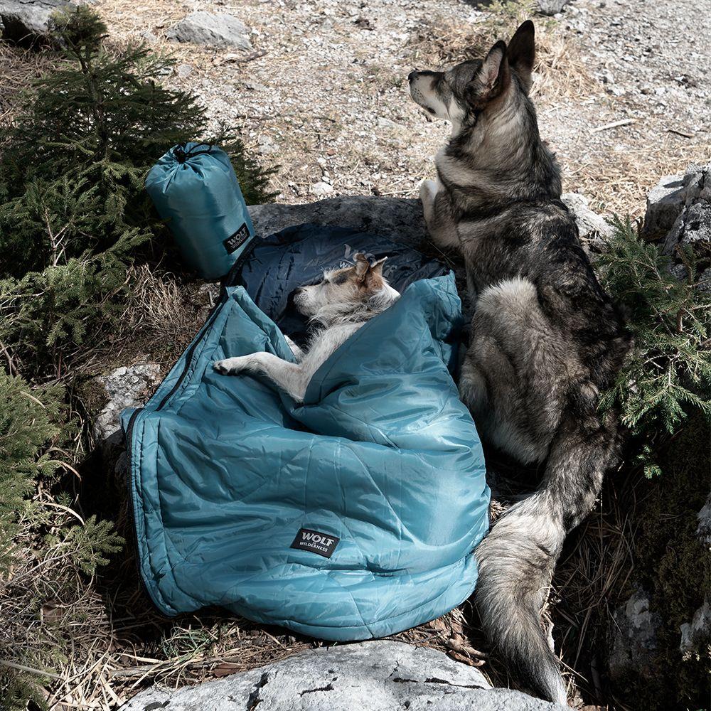 Wolf of Wilderness Reise-Schlafsack  - Waschbeutel XL: L 75 x B 80 cm