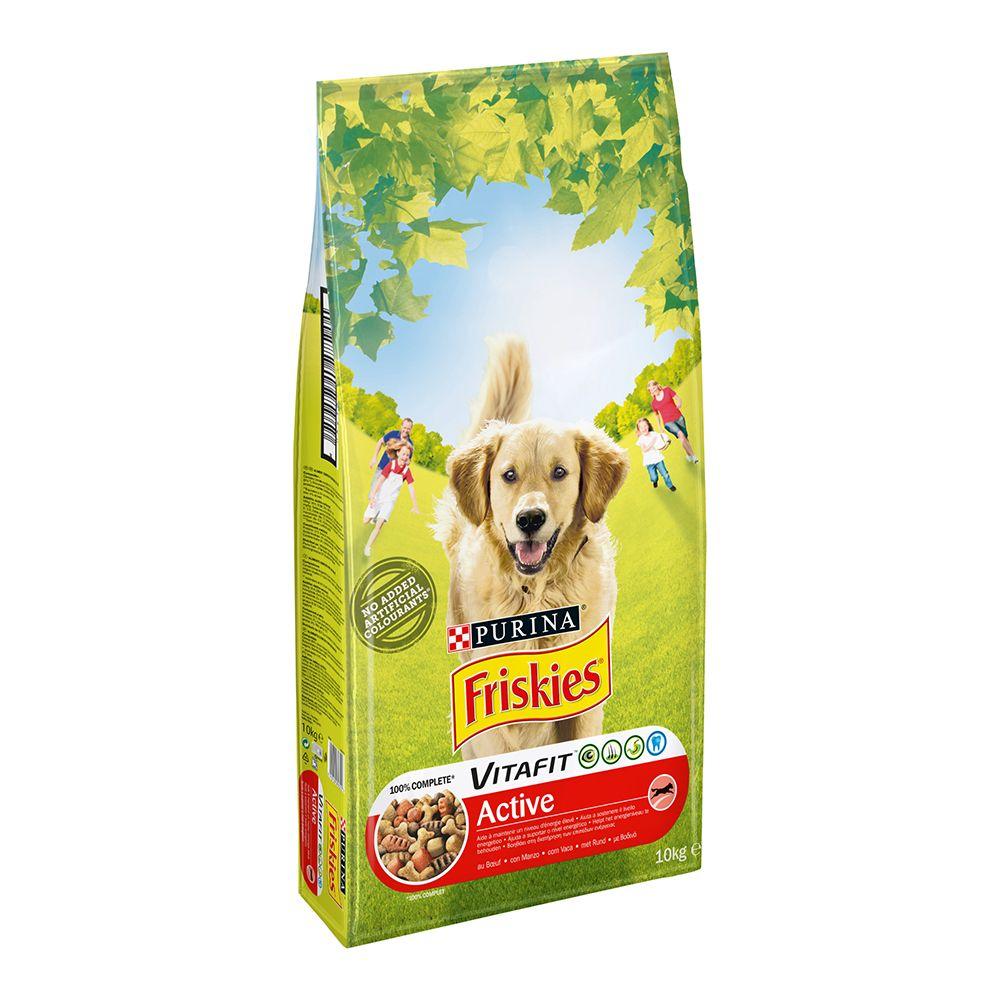 Image of Friskies Adult Active con Manzo - Set %: 2 x 10 kg
