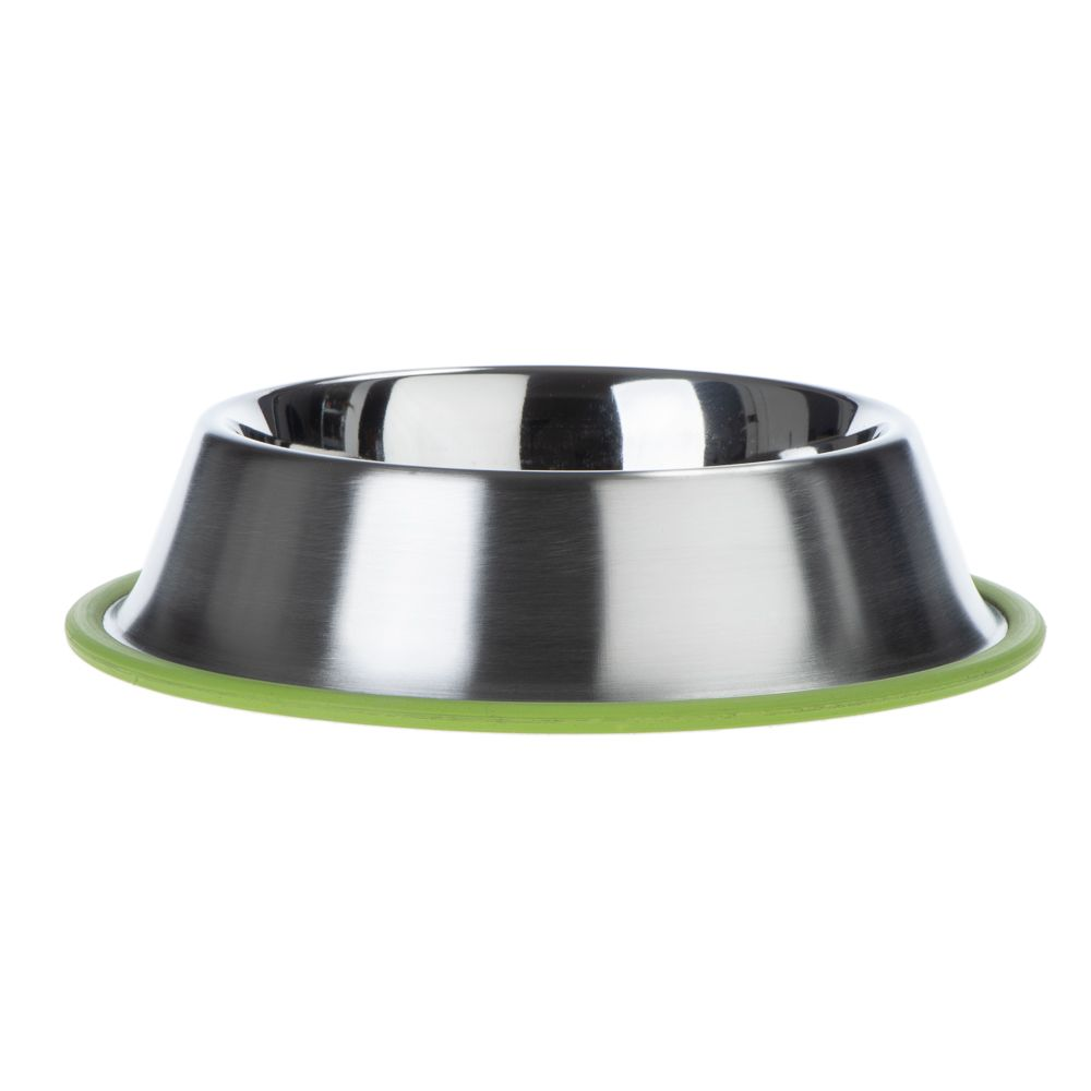 Silver Line matskål grön - Ekonomipack: 2 x 450 ml