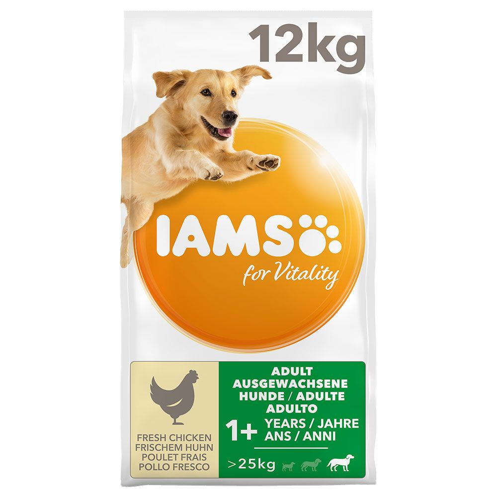 Chicken Large Dog Adult for Vitality IAMS Dry Dog Food