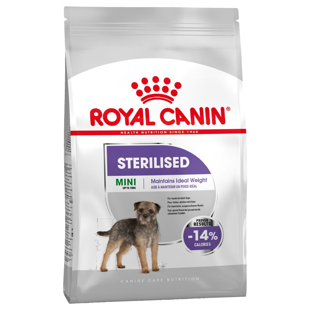 Mini Sterilised Royal Canin Dry Dog Food