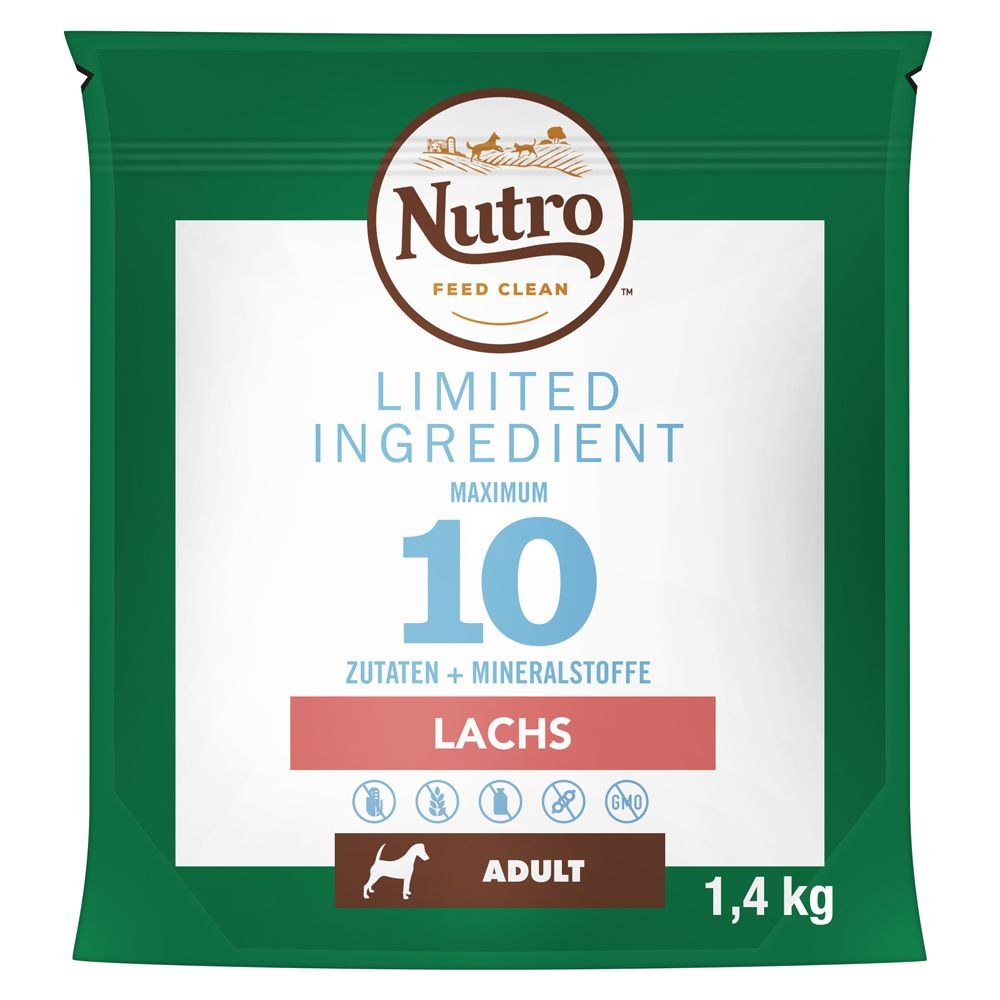 Nutro Dog Limited Ingredients Adult Salmon - Ekonomipack: 2 x 11,5 kg
