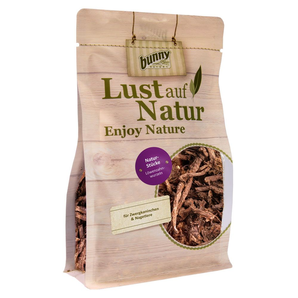 150g Bunny Natural Bits Dandelion Root Snacks