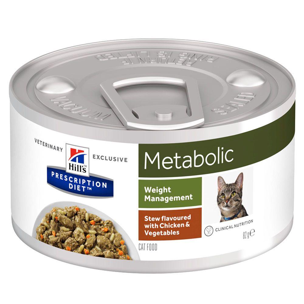 Hill's Prescription Diet Metabolic Stew med kyckling - Ekonomipack: 48 x 82 g