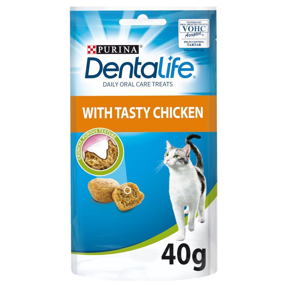 Image of Purina Dentalife Cat Pollo - 8 x 40 g