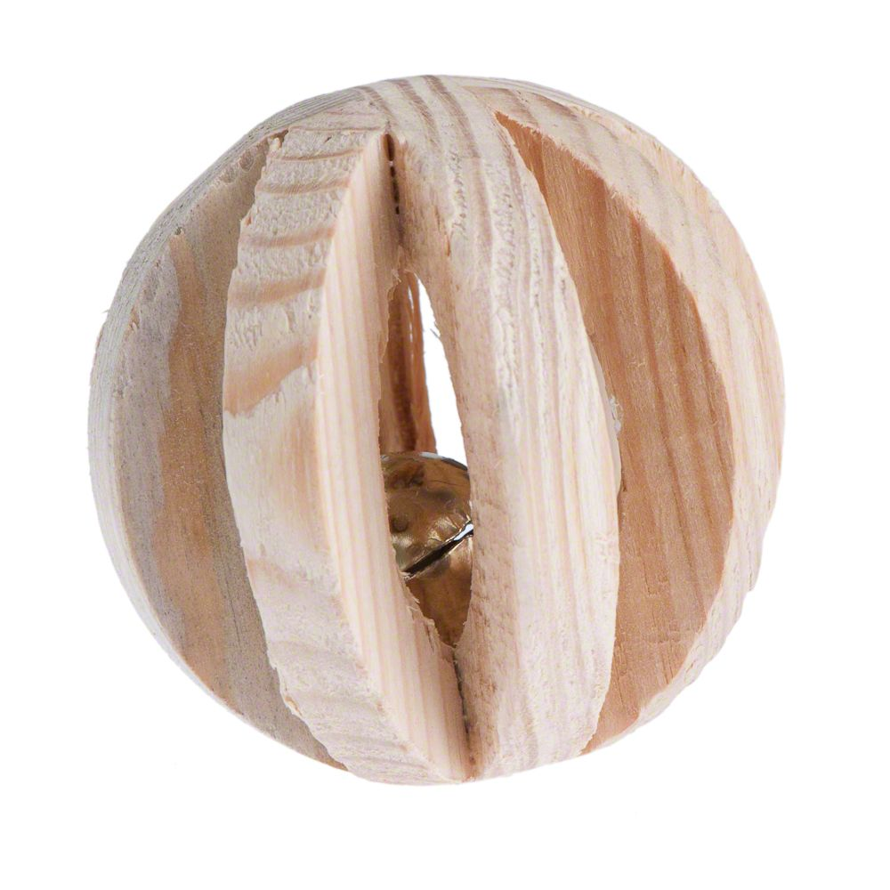 Wooden Ball with Bell