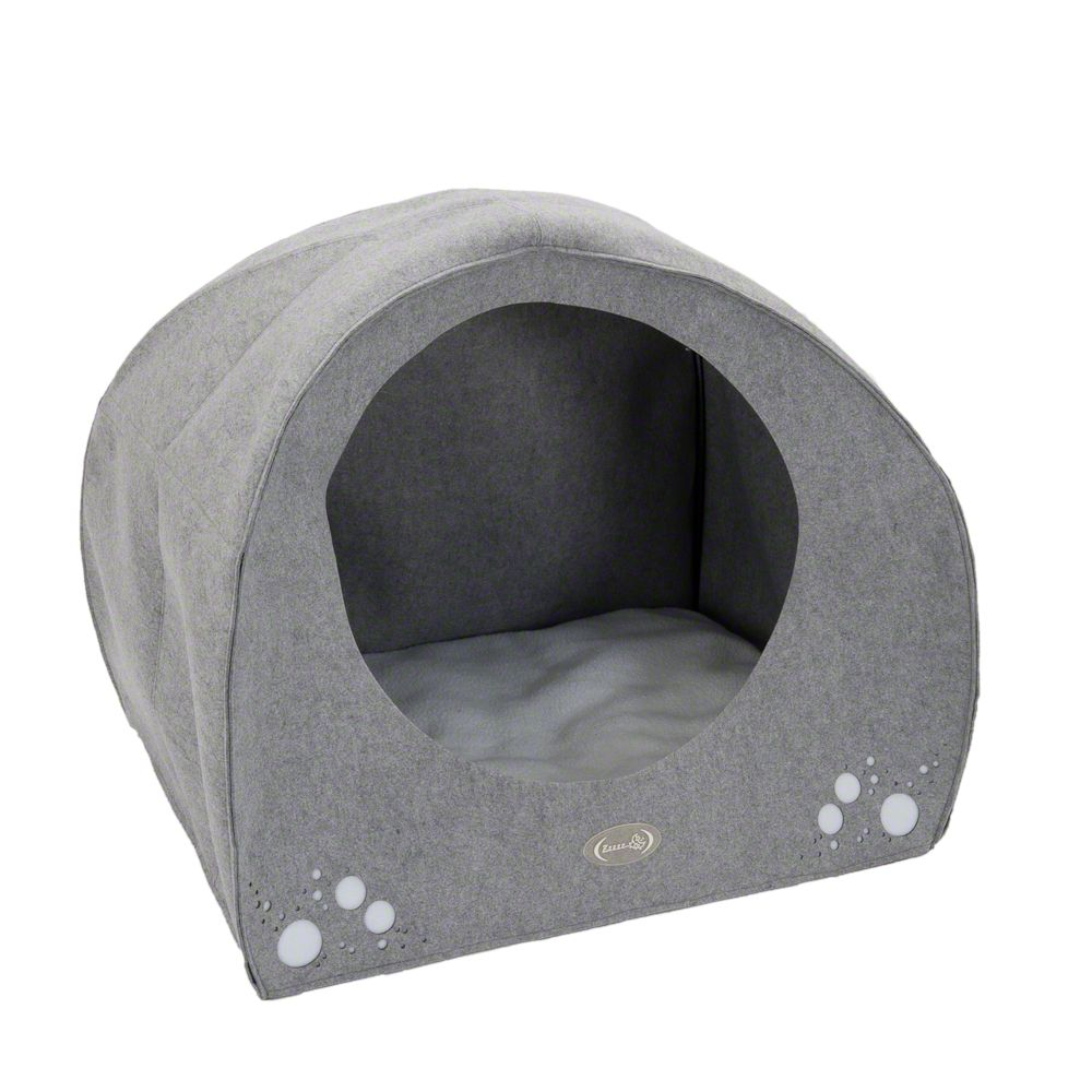 Igloo Dog Den - Grey 95x76x79cm (LxWxH)