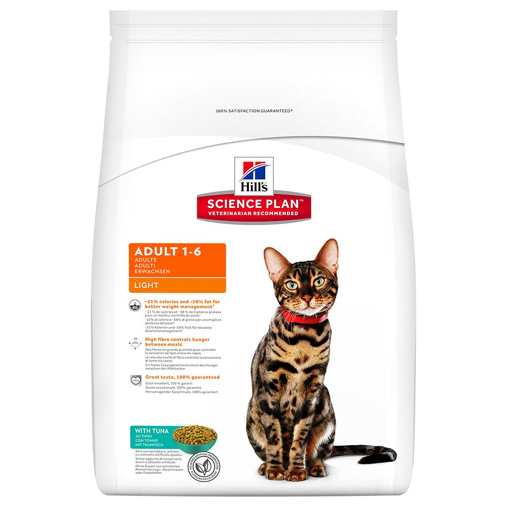 Click to view product details and reviews for Hills Science Plan Dry Cat Food Economy Packs Adult Light Tuna 2 X 5kg.