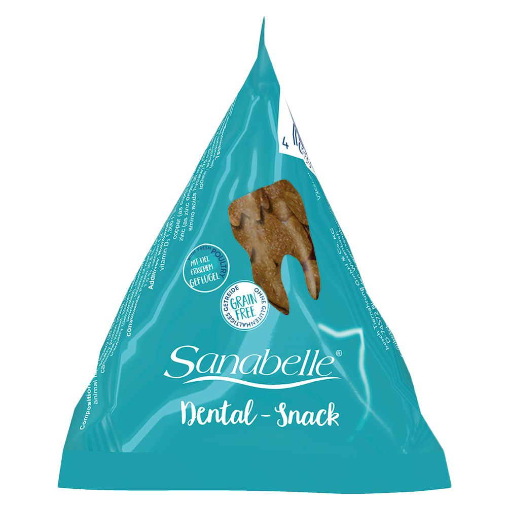 Sanabelle Dental Snack en berlingots pour chat - 12 x 20 g