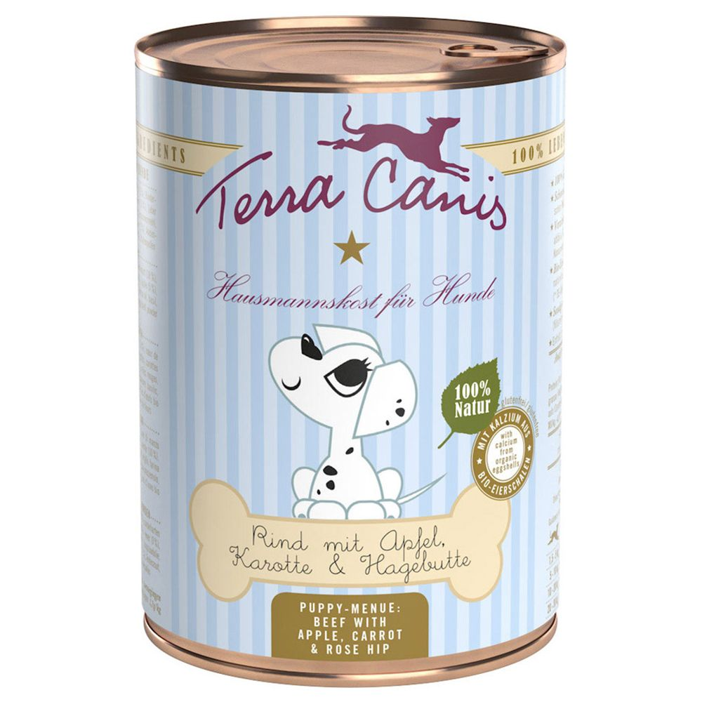 INOpets.com Anything for Pets Parents & Their Pets Terra Canis Puppy Food 6 x 400g - Chicken