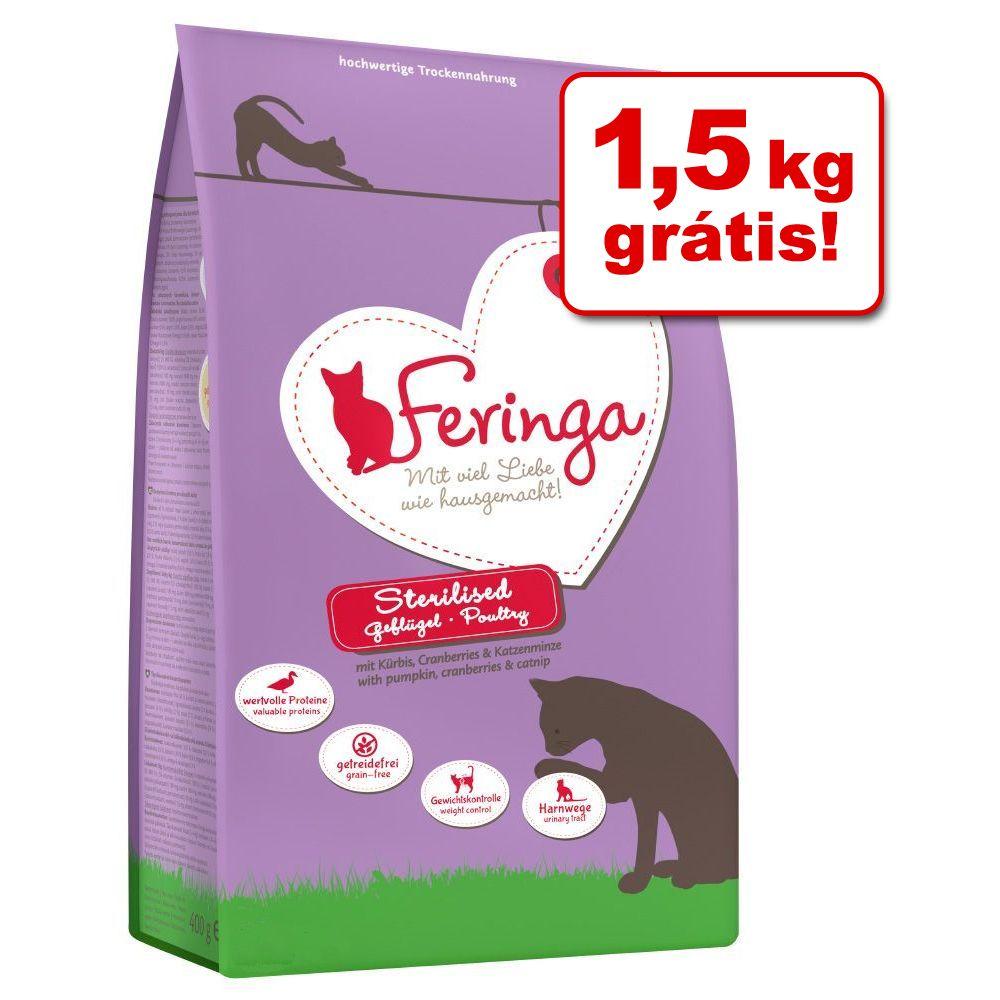 Feringa ração 6 kg ou 6,5 kg em promoção: até 1,5 kg grátis! - Adult com frango e truta (5 kg + 1 kg grátis)