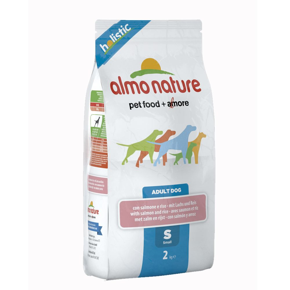 Almo Nature Adult Small łosoś z ryżem  2 kg