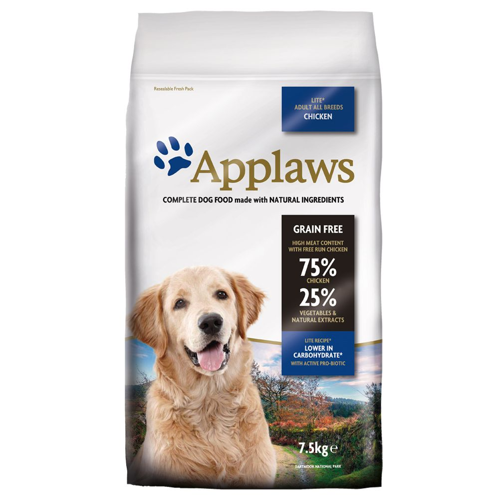 Applaws Adult Huhn Light – Sparpaket: 2 x 7,5 kg
